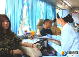 市人社局機關干部職工積極參加無償獻血活動