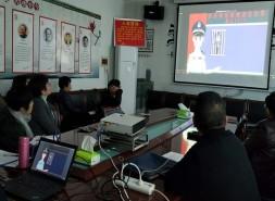 邵阳市工信局组织干部职工观看禁毒宣传片