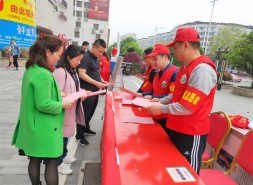 双清区东风路街道开展文明祭扫宣传教育活动