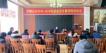 隆回县麻塘山乡组织开展青年党员
