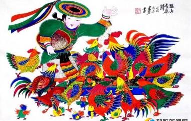 隆回县农民画精彩亮相中国农民画