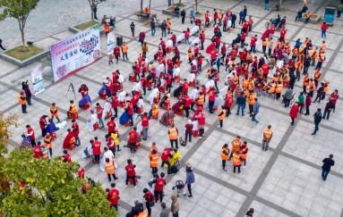 邵东43家爱心企业义务为环卫工人
