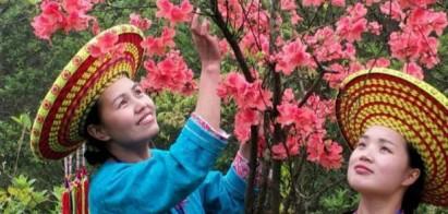 隆回龙瑶幽谷:让游客每天都能看到花