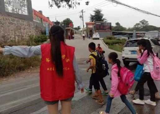 雙清區火車中心完小志愿者在行動
